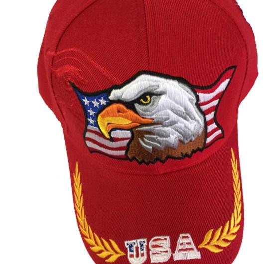 USA Eagle Cap Color Red