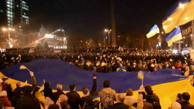 Донецьк за єдину Україну! 2014 рік. Фото: youtube.com