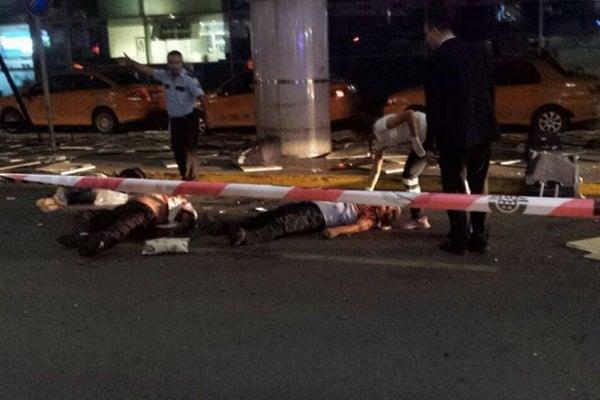 """На місці вибухів у Стамбулі. Фото: """"Фейсбук""""."""