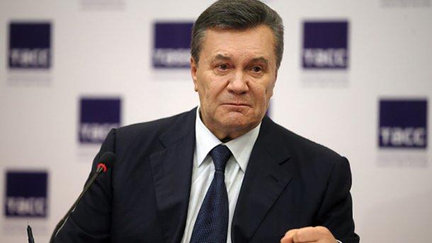 Віктор Янукович під час прес-конференції у Ростові-на-Дону. Фото:24tv.ua
