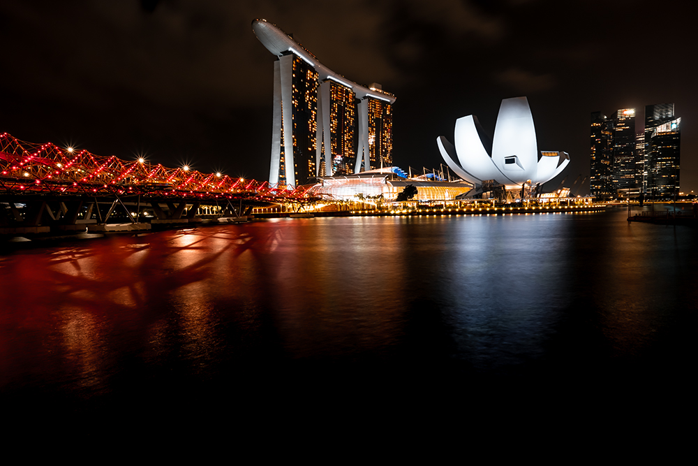 asia, singapore, reflections, night lights, night reflections, cityscape photography, night photography, architecture, skyline, marina, city, water, landmark, building, urban, cityscape, bay, landscape, travel, business, twilight, illuminated, dusk, tower, skyscraper, downtown, evening, center, night, hotel, tourism, exterior, harbor, sands, sunset, lights, sightseeing, view, palm, bar, viewpoint, tree, people, reflection, attraction, luxury, waterfront, outdoor, modern, high, southeast, riverside, finance, district, light, financial, metropolis, river, sky, central, tall, commercial, panorama, panoramic, marina sands, outdoors, artscience, scene, structure, famous, bridge, sea, town, sand, economy, garden by the bay, apartment, residential, highrise, dome, asian, economic, culture, public, singaporean, singapore city, singapore cityscape, singapore skyline, vacation, lifestyle, holiday, journey, adventure, tourist, relaxation, leisure, enjoying, traveler, backpacker, happiness, friendship, activity, cheerful, weekend, friendly, wanderlust, exploring, friendliness, adventurous, togetherness, exploration, carefree, location, recreational, excitement, together, hipster, hanging, adult, wander, traveller, searching, visiting, looking, women, rich, person, female, island, air, vintage, style, funny, map, camera, recreation, research, preparation, curiosity, international, holidays, photo, photographer, nature, beautiful, outside, man, professional, photography, enjoy, view point, standing, shooting, achievement, weather, wilderness, taking a picture, lookout, dream, amazing, geological, geology, photographing, landscape photography, cute, lens, hobby, cold, tripod, picture, travel photography, beauty, nature photography, footpath, scenery, single, photograph, human, Landscape photographer, Helix Bridge, Gardens by the Bay, Waterfront Promenade, SkyPark Observation Deck, SkyPark, Observation Deck, ArtScience Museum, super grove trees