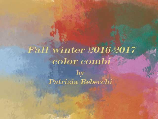 autunno inverno 2016-17 color combi