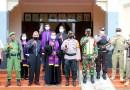 Jelang Paskah, Personel Gabungan TNI-Polri dan Forkopimda Demak Gelar Pengamanan