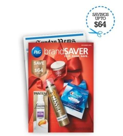 Brand saver service from PG everyday