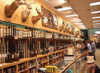 Cabela's shooting & hunting store