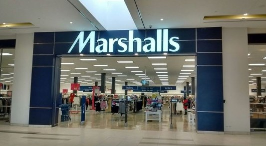 marshalls shop front view