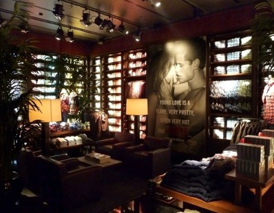 inside the abercrombie & fitch lifestyle