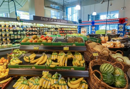 Fresh Fruits In Albertsons Store