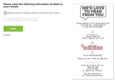 savers listens survey with purchase