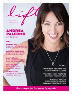 Lift Magazine Cover 1st Quarter 2016
