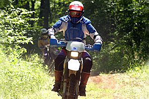 Outdoor Recreation in Hinckley MN. Gandy Trail. OHV, ATV, Motorbike trails .