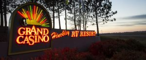 RV Resort in Hinckley MN. Grand Casino RV Resort. Top RV Park.