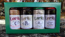 Do you love camping? Do your guests? Give them (or yourself) the all-in-one, all purpose, all-the-time blended seasonings. The best thing to come to camping cooking since popcorn!