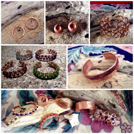 """A collection of handcrafted """"Beachy, Chic & Unique"""" jewelry and gift items."""