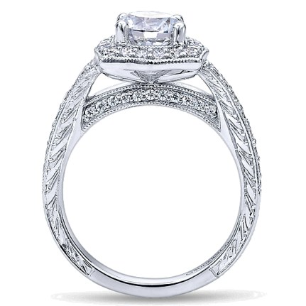 Gabriel-14k-White-Gold-Channel-and-Hand-Cut-Etched-Round-Halo-Diamond-Engagement-Ring-ER10191W44JJ-2
