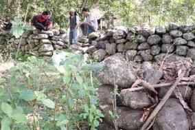 Mencari Jejak Sejarah Betteng Desa Kunyi