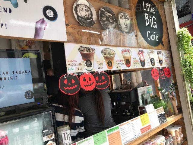Little Big Caféの注文カウンター