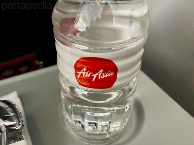 エアアジアのお水