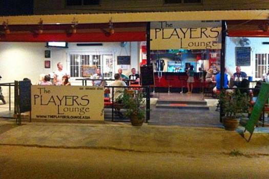 Players Lounge - Frontage
