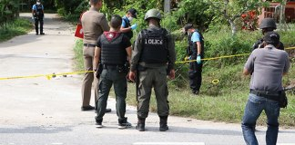 drive-by shooting suspected insurgents