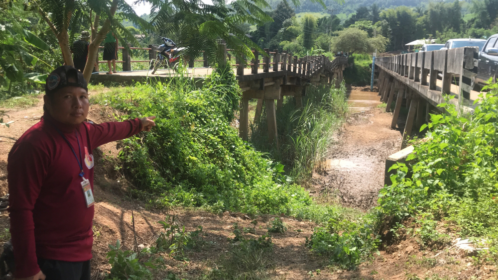 Chiang Rai four-year-old drowns after falling into river