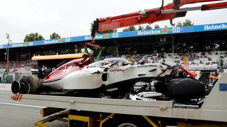 F1 driver Ericsson