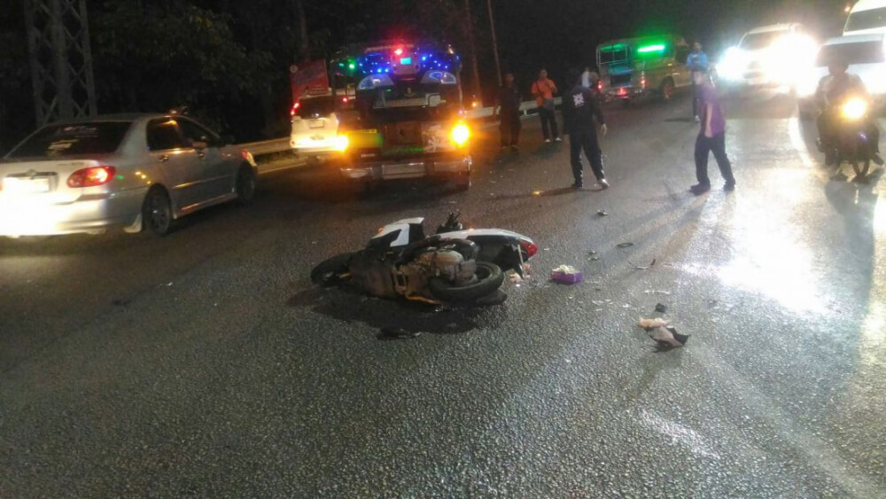Two Russian tourists killed in Patong Hill crash