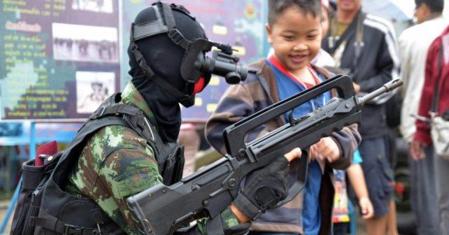 Выставка техники Королевских Воздушных Сил Таиланда