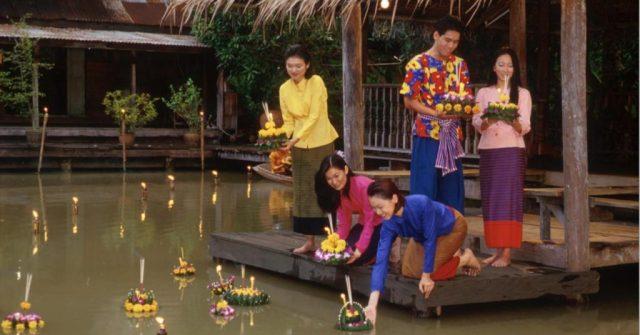 Лой Кратонг в Паттайе - праздник плавающих лодочек и фонарей