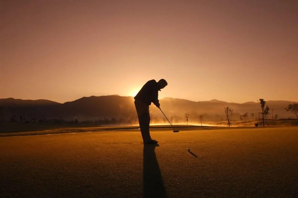 golfing in thailand