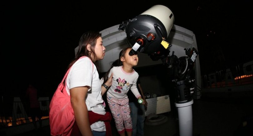 Skygazers in Prachin Buri treated to rare spectacle