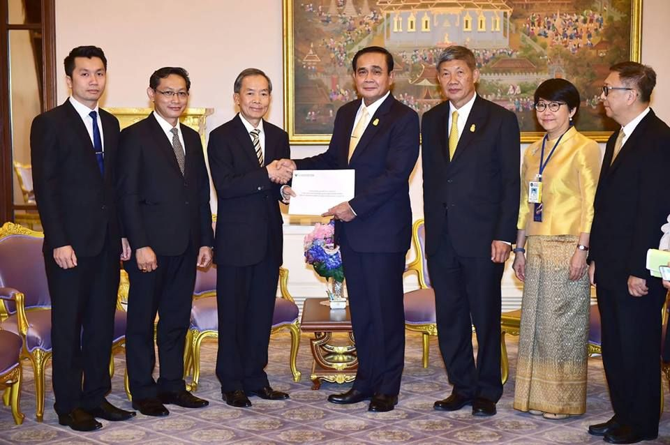 Thai poised to help Laos: PM