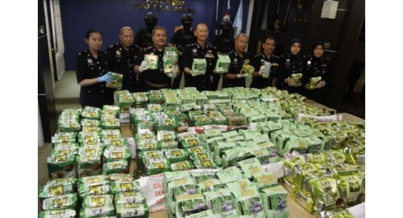 Four arrested as police make huge drug bust of RM26.1mil in Penang
