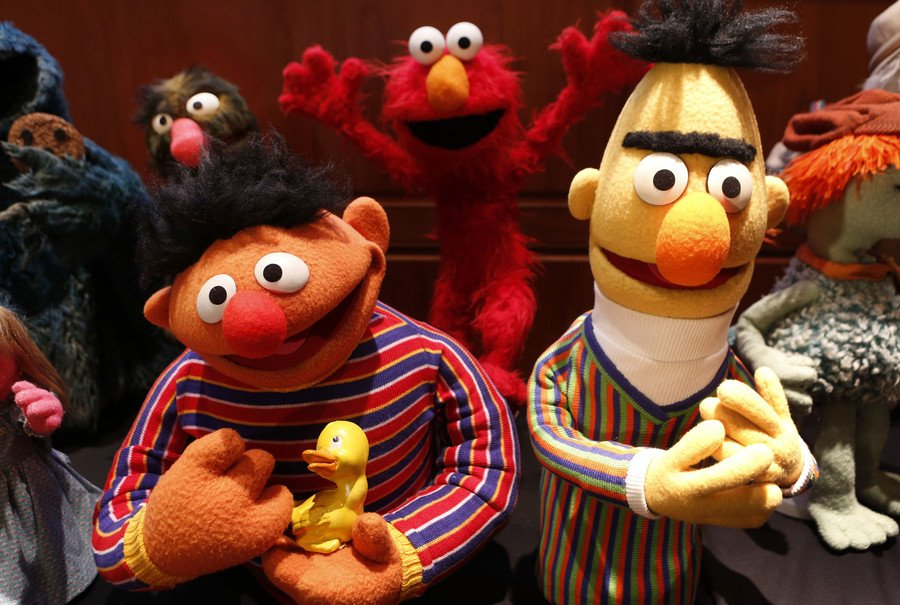 Bert & Ernie 'were gay couple,' reveals Sesame Street writer