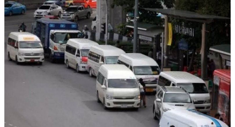 1,800 Bangkok vans to be banned from road
