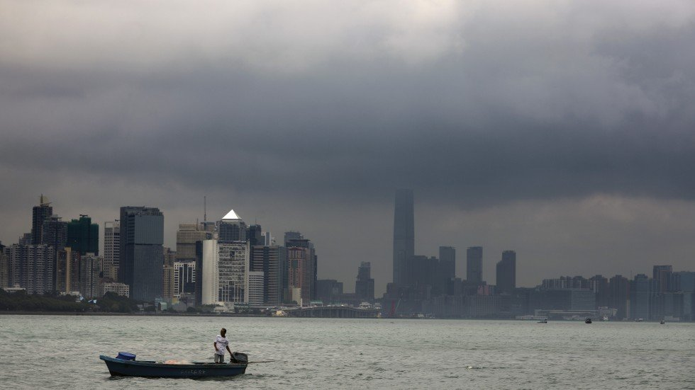 Super Typhoon Mangkhut: city's residents prepare for worst as most powerful storm since records began edges closer to Hong Kong
