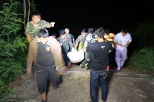 Body of unidentified Thai man found in Phitsanulok river. The body of an unidentified Thai man was found on Wednesday night floating in the Nan