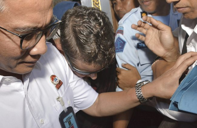 Australian drug smuggler banned from Indonesia after release