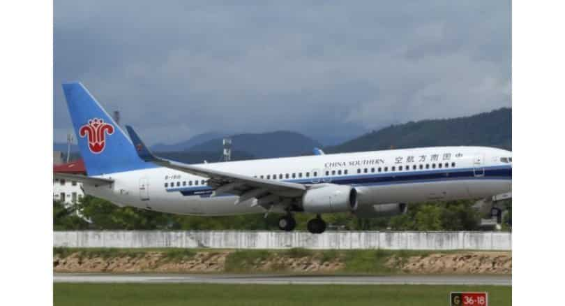 Boeing jet lands at Hong Kong International Airport – only to find another plane on the runway