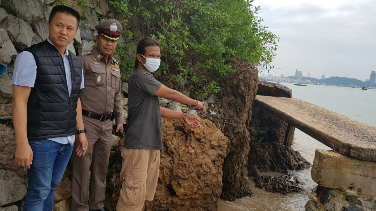 Pattaya beach 'thief' arrested