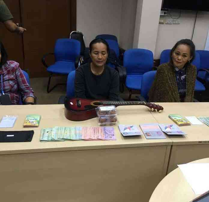 Three women from the philippines arrested and charged with raising funds for a fake childrens charity in Pattaya