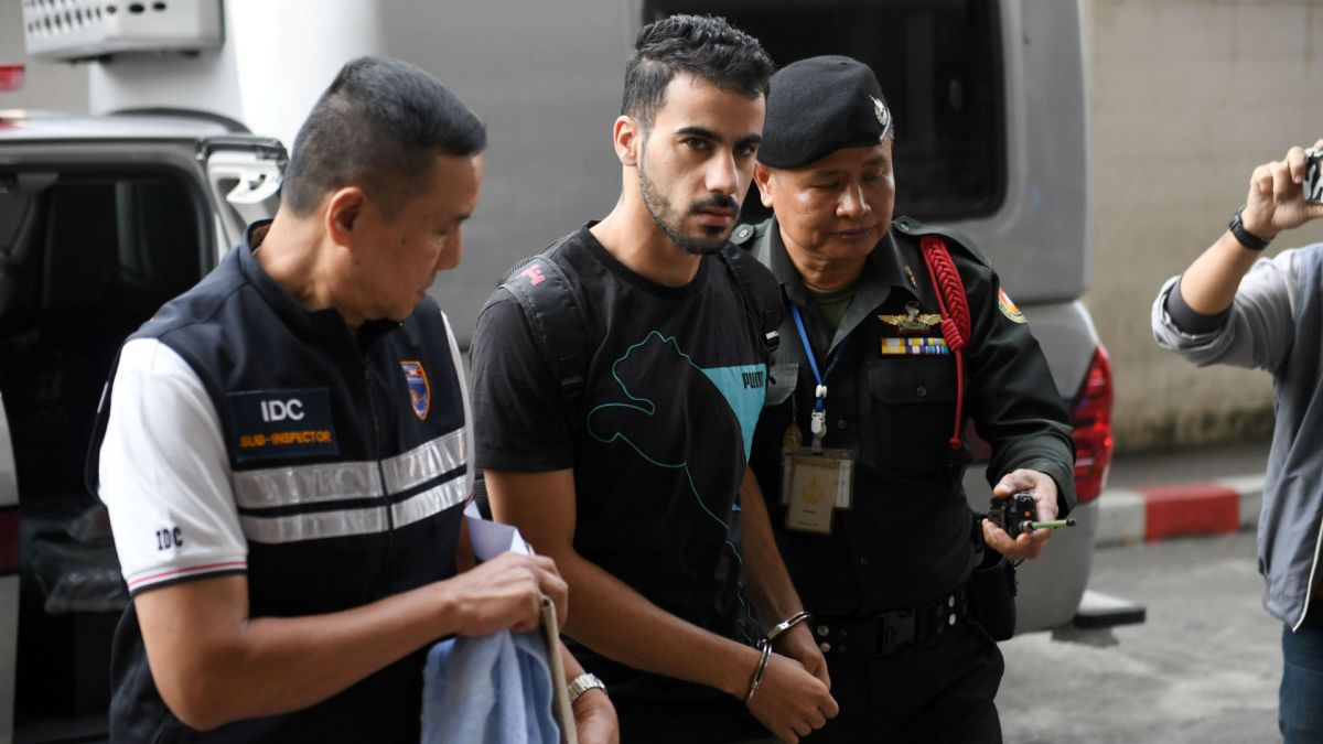 Bahrani football player being held in Thailand continues to draw global attention, will be held until at least mid April