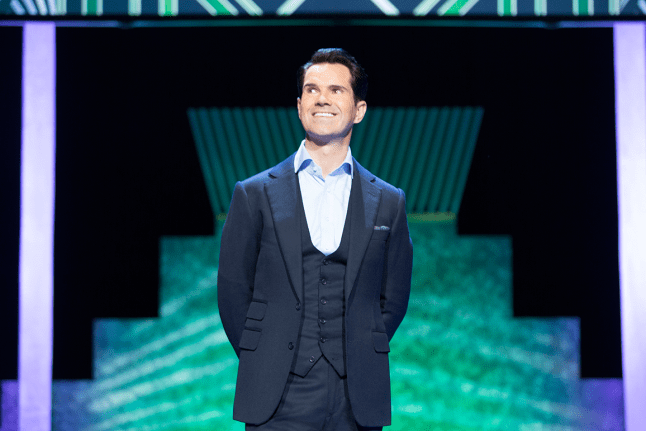 Video: JIMMY CARR'S 'WEIRD HONKING GOOSE' LAUGHTER TO RETURN TO BANGKOK