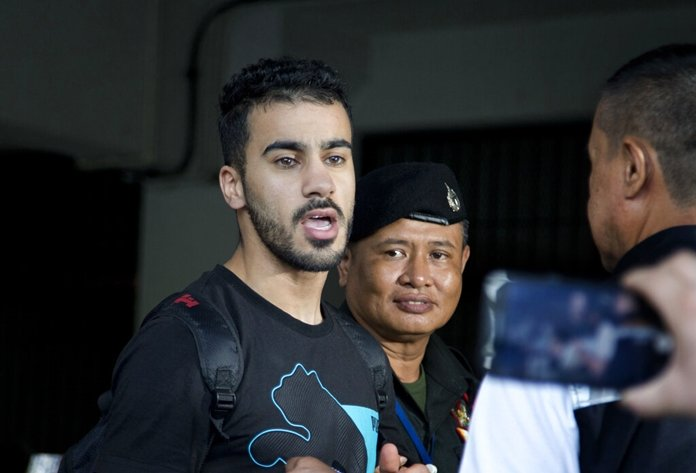 Request made in Thai court to send soccer player to Bahrain. Thai prosecutors submitted a request in court Friday for Thailand to extradite to Bahrain a
