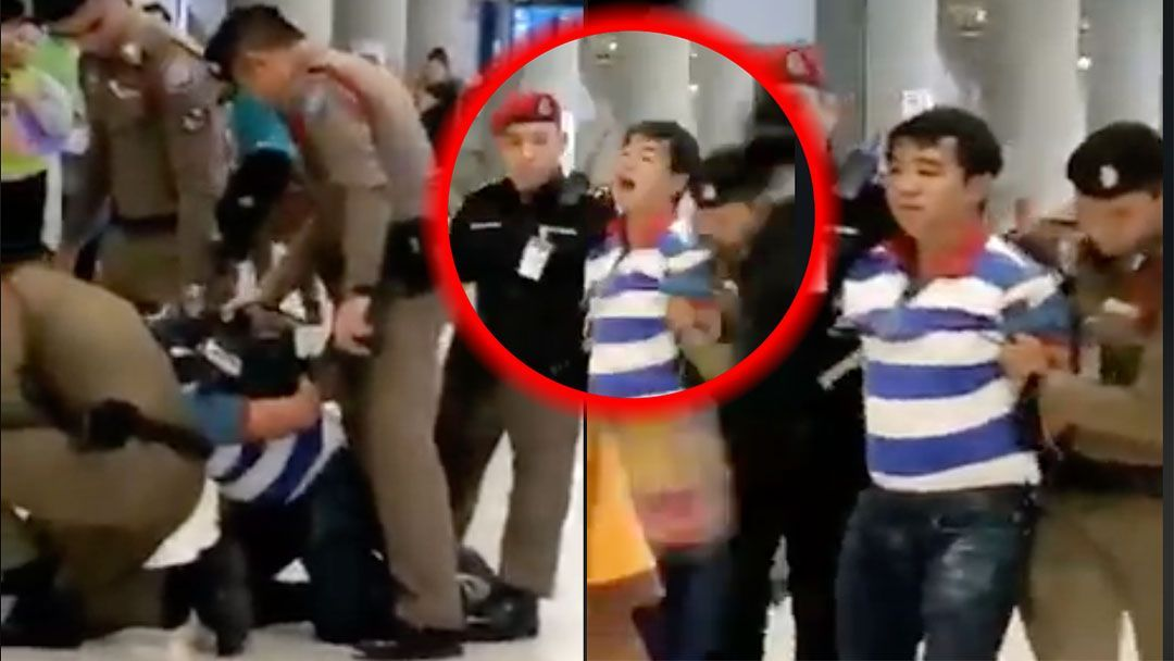 Tour guide who can't speak Thai arrested at Suvarnabhumi Airport