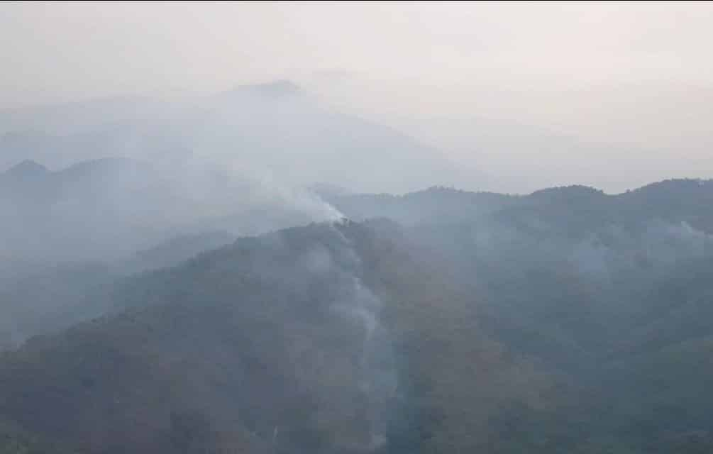 Chaing Mai reports cleaner air. Polluted air levels dropped in Chaing Mai province on Thursday thanks to some rainfall and strong winds.