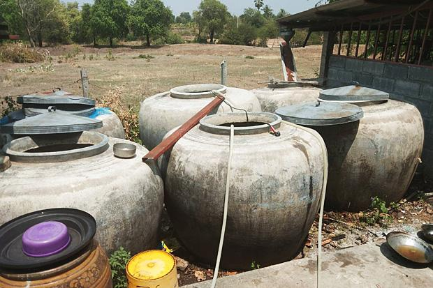 Korat now running out of WATER