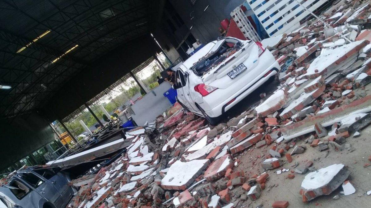 Major storm at Don Mueang, flights disrupted