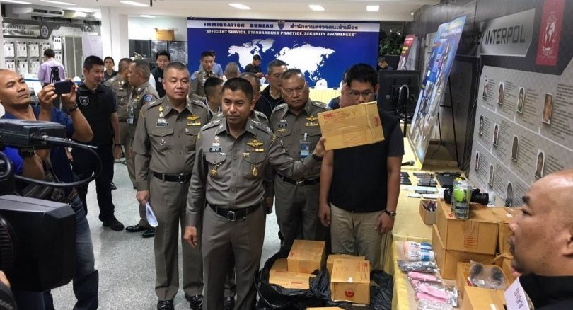 Pathum Thani man arrested over sex drug and toys sales