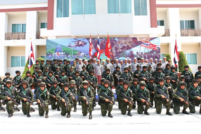 Thai Military in joint training exercise with Chinese Military this week